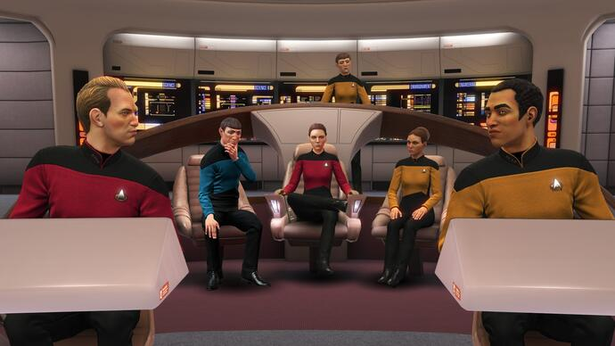 Ubisoft's VR Star Trek game is getting a Next Generation themed expansion