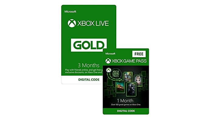 Buy Three Months Of Xbox Live Gold And Get A Free Month Of