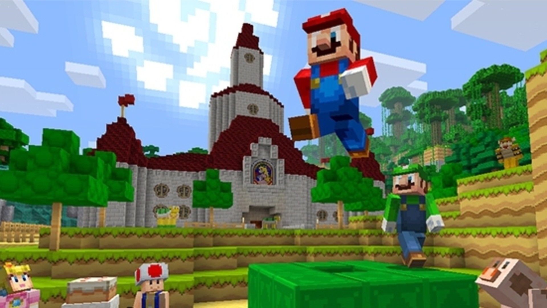 Minecraft S Cross Play Bedrock Update Finally Comes To Switch Next