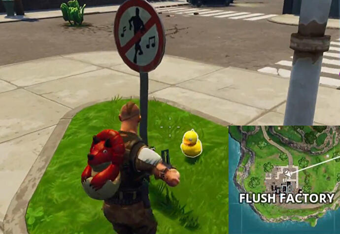 Fortnite_Gummiente_in_Flush_Factory