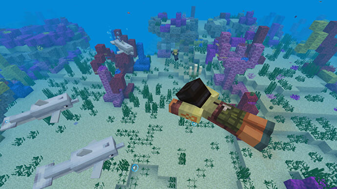 Minecraft's ocean-expanding Update Aquatic is out now on Xbox One