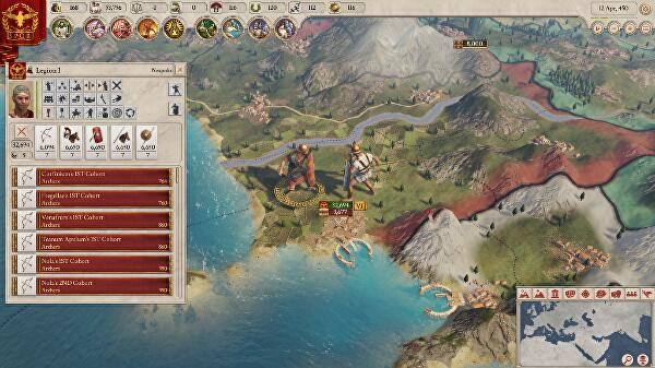 Imperator: Rome is Paradox's big new grand strategy game