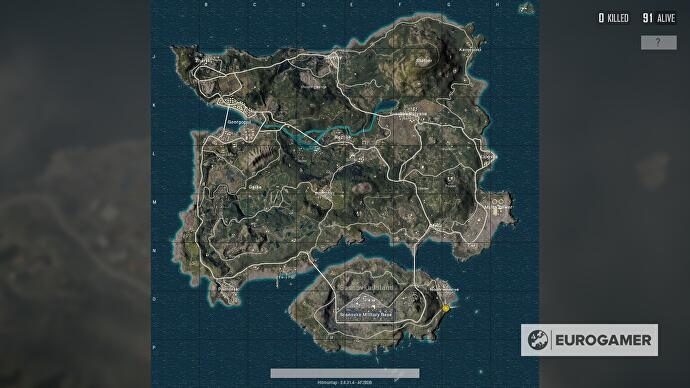 Playerunknown S Battlegrounds Maps Loot Maps Pictures: TOP 5 BEST LOOT LOCATIONS IN EVERY PUBG MAP
