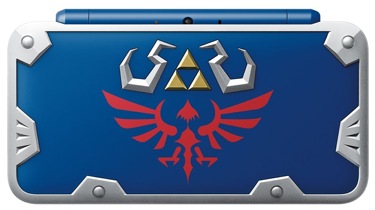 Nintendo Is Releasing A Gorgeous New 2ds Xl Inspired By Link S Hylian Shield Eurogamer Net