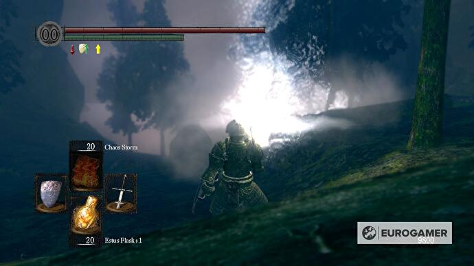 Dark Souls - Darkroot Basin strategy and Hydra battle ... on firelink shrine map, dark souls world map, dark souls 2 map, dark gate map, crystal cave map, dark souls lost izalith map,