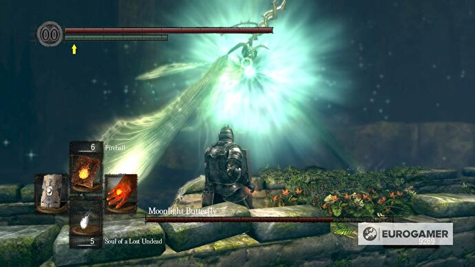 Dark Souls Moonlight Butterfly Boss Strategy And How To Get The