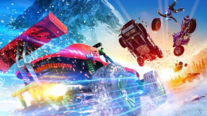 Onrush review - an eccentric and excellent spin on the arcade racer