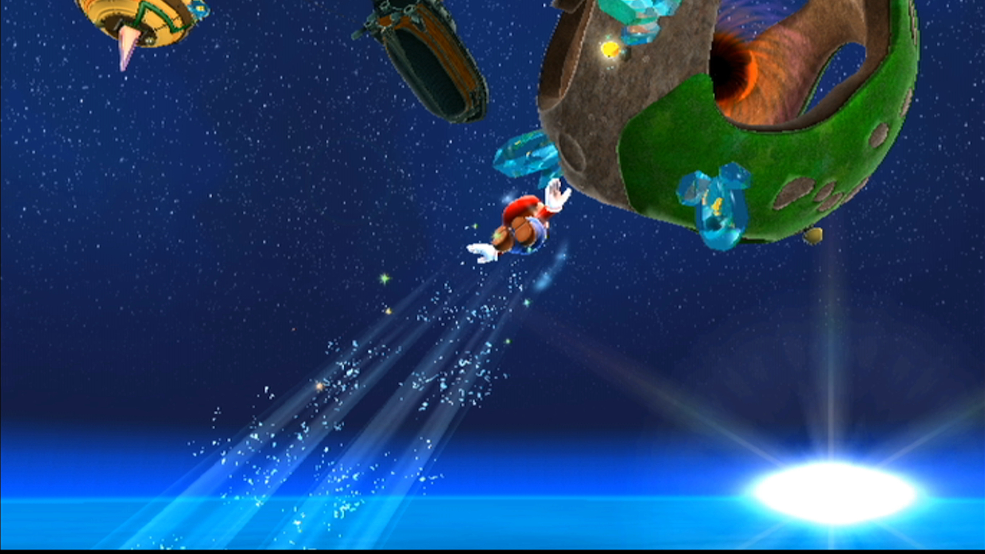 Hands-on with Super Mario Galaxy at 1080p on Nintendo's official Wii