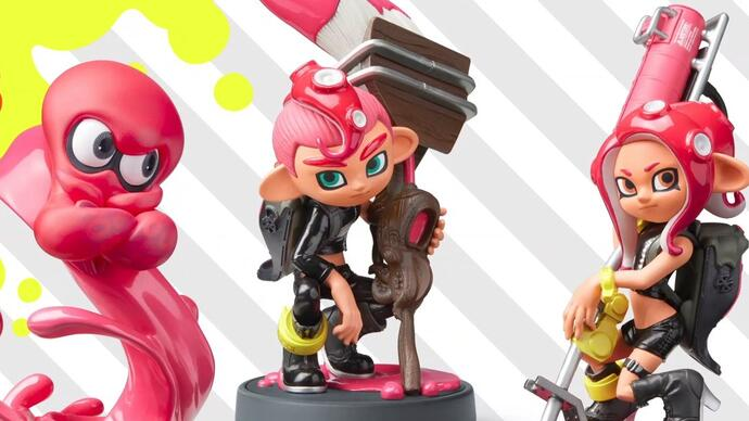 Splatoon 2's Octoling expansion releases this week, Octoling amiibo incoming