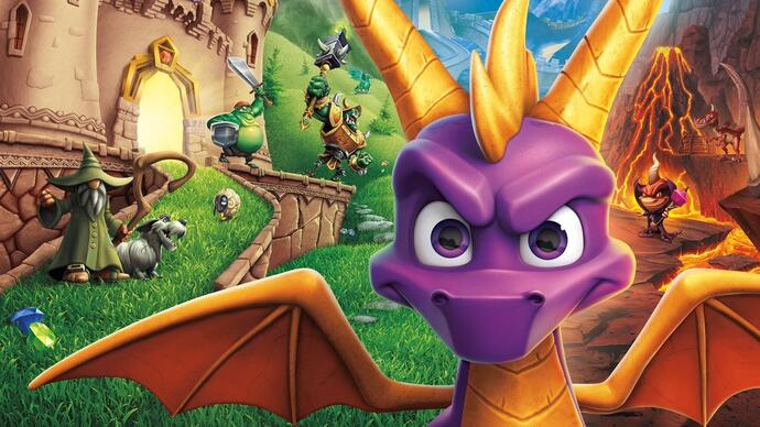 Spyro Reignited Trilogy recebe mais gameplay