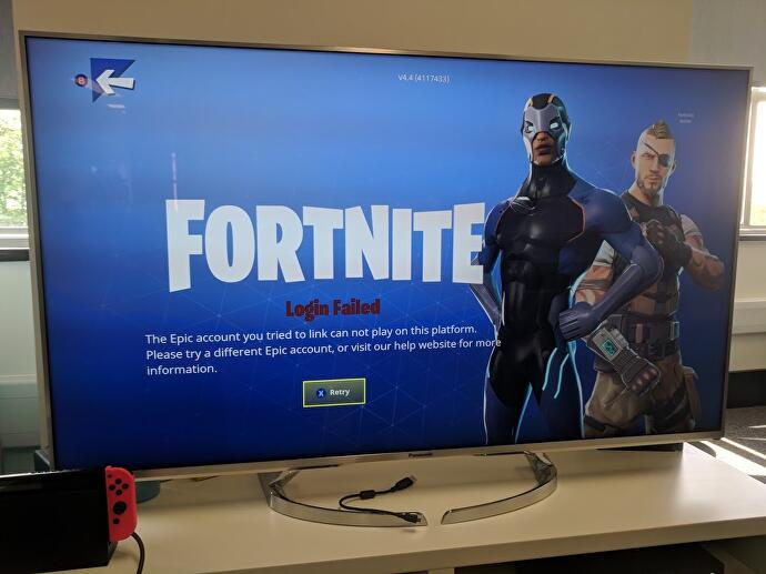 "The PlayStation 4 Fortnite account curse is not ""for the ..."