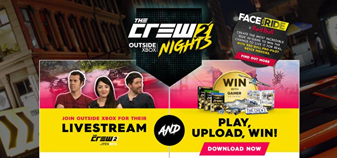 Competition: Win cool prizes with The Crew 2 • Eurogamer net