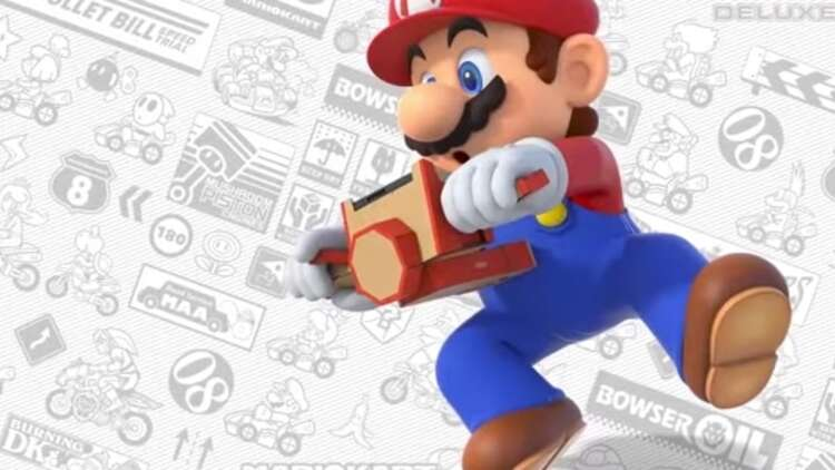 Now You Can Use Nintendo Labo To Play Mario Kart 8 Deluxe