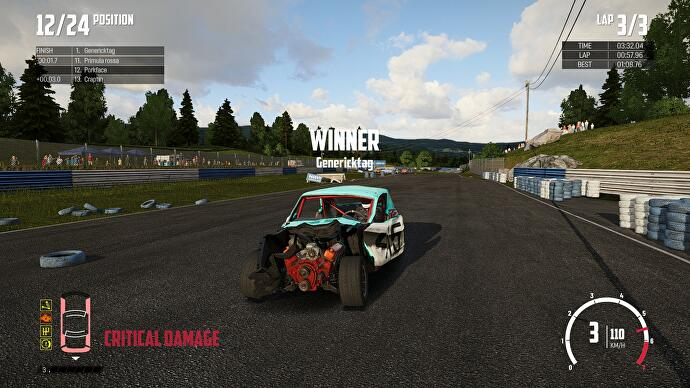 Wreckfest review - a true successor to the brilliant