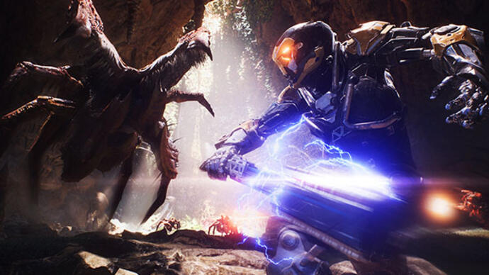 Anthem - Vê toda a demo gameplay da E3