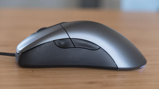 Microsoft Classic Intellimouse review - now hardware is