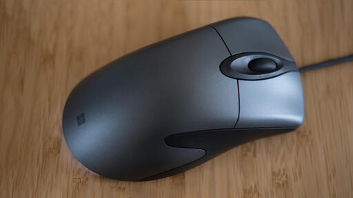 Microsoft Classic Intellimouse review - now hardware is getting the