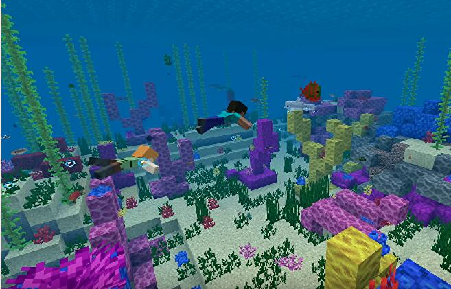 Minecraft's second phase of the Update Aquatic is here