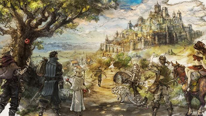 octopath traveler japanese special edition