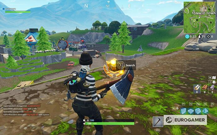 fortnite risky reels treasure map4 - carte au tresor de risky reels fortnite