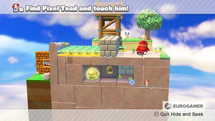 captain toad pixel toad locations for treasure tracker episode 1