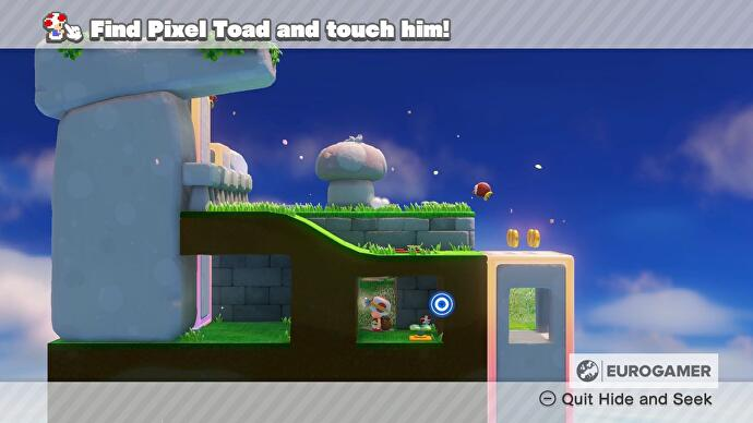 Captain Toad Pixel Toad locations - every Pixel Toad in