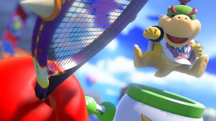 Mario Tennis Aces update nerfs Bowser Jr. following complaints