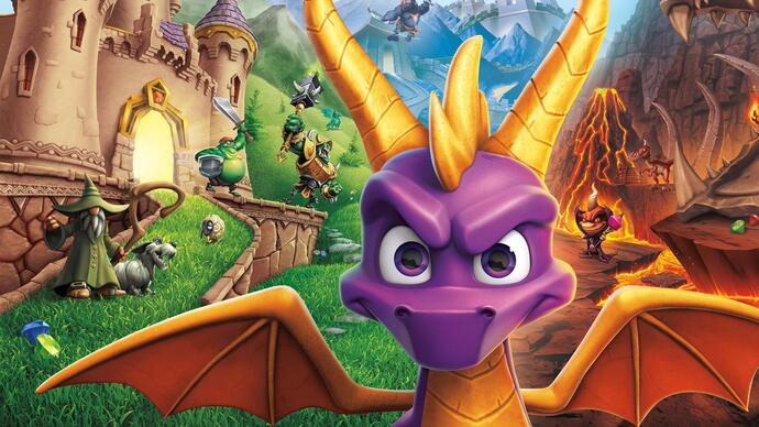 Novo gameplay de Spyro Reignited Trilogy