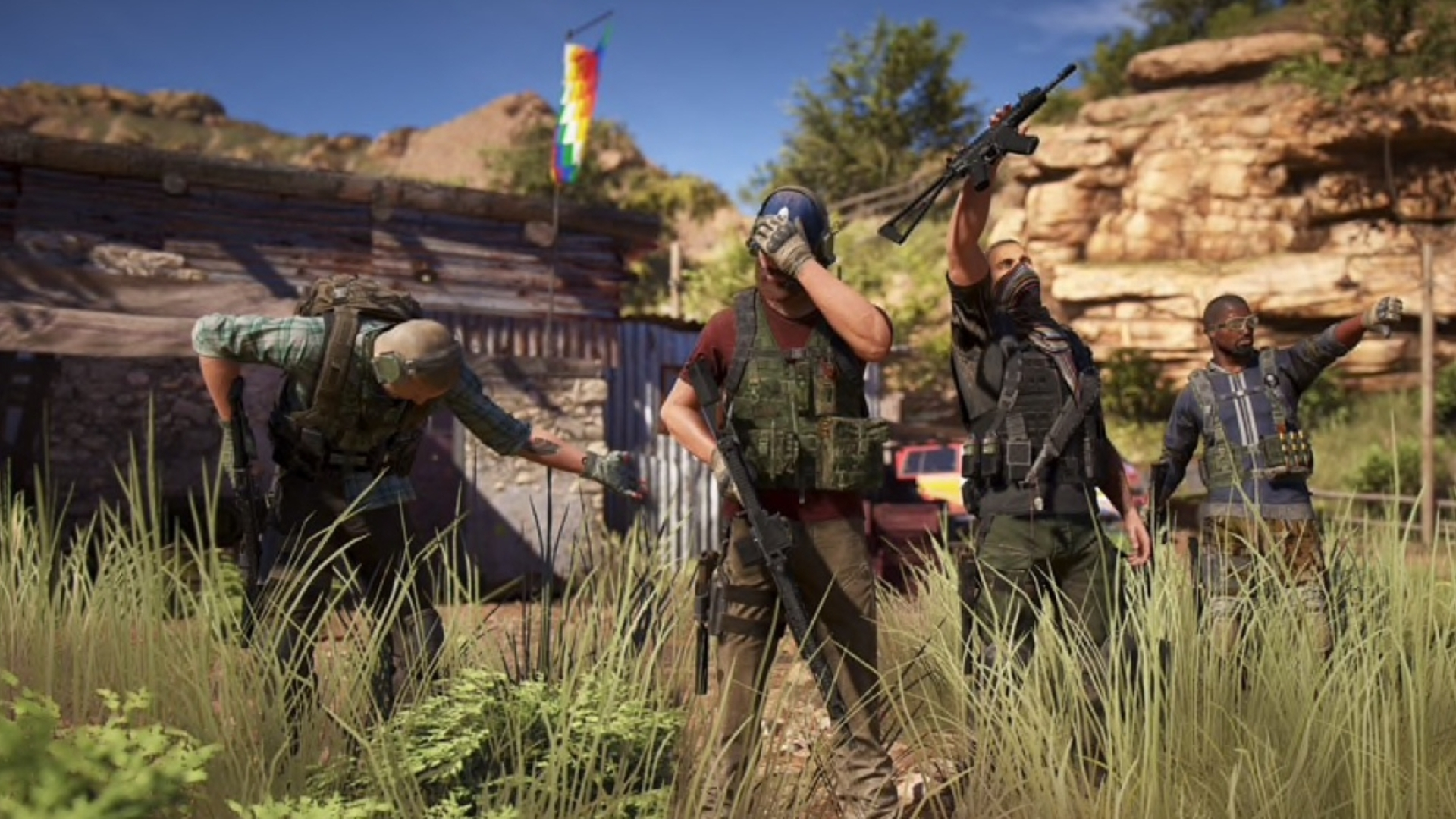 Ghost Recon Wildlands Adding Rainbow Six Siege Operator ... |Ghost Recon Rainbow Six