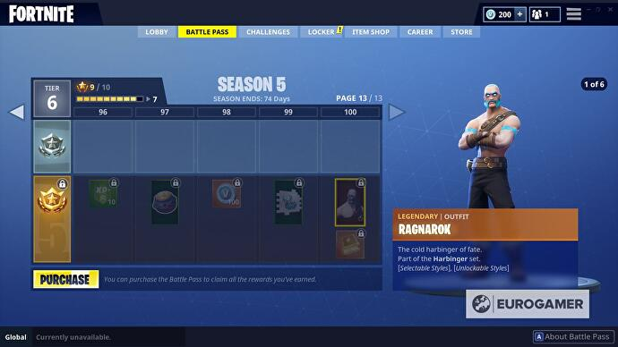 Fortnite Ragnarok: How to unlock all styles, including the