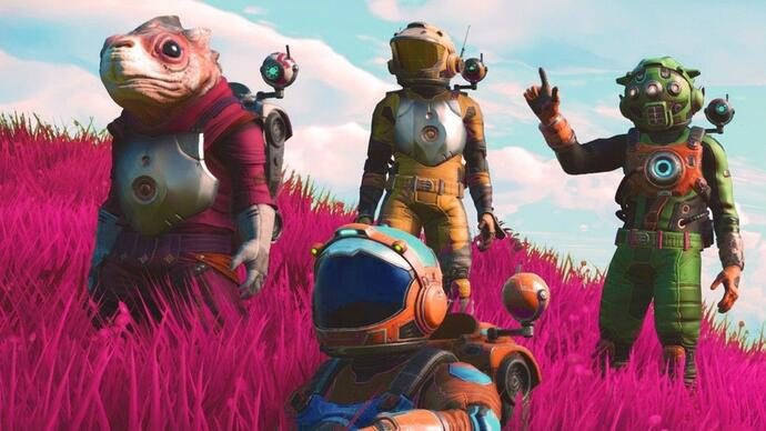No Man's Sky launched without multiplayer on GOG