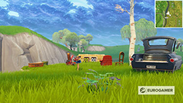Clay Duckies Fortnite Fortnite Clay Pigeon Locations Where To Find Clay Pigeon Shooting At Different Locations Eurogamer Net