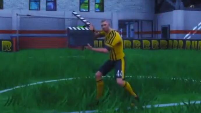 Now a football club has used Fortnite to announce a new signing