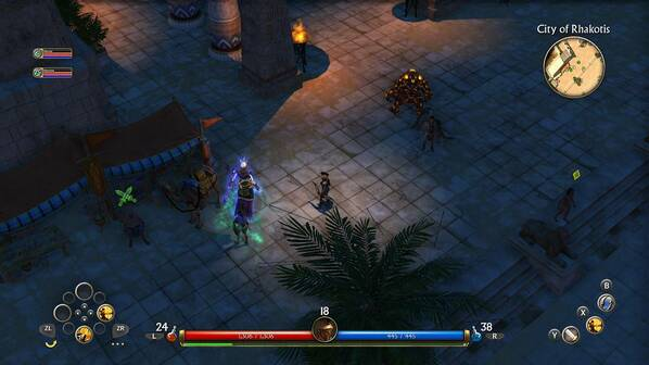 Titan Quest review - not all Switch ports are created equal