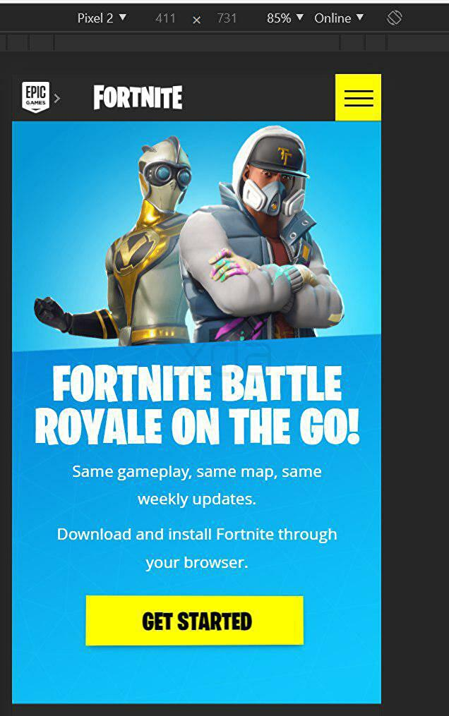 Epic leak suggests Fortnite on Android won't be on the