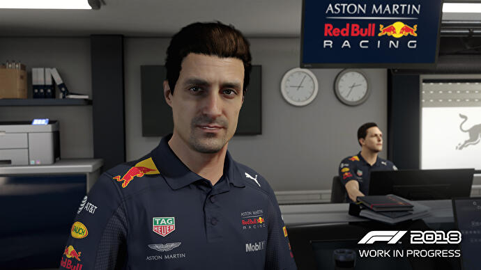The F1 series now has the best career mode in racing games