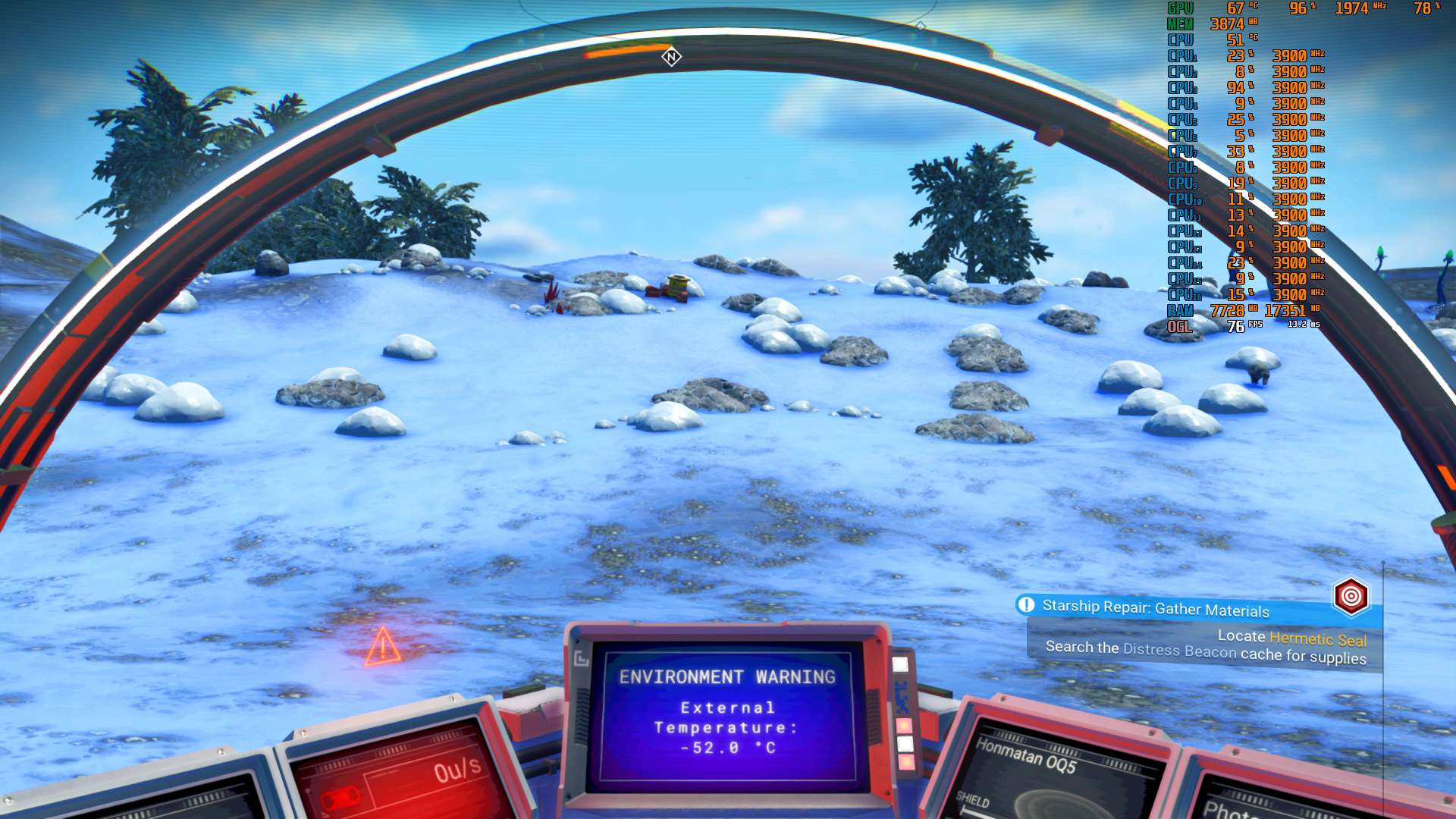 No Man's Sky Next on PC: brilliant visuals but performance