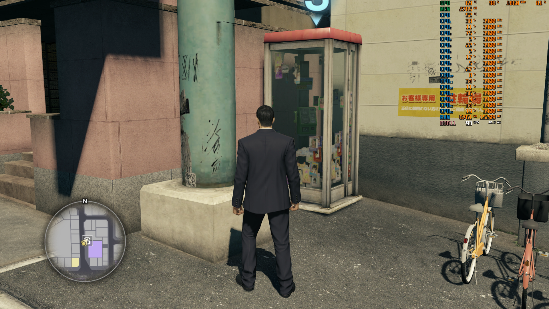 Yakuza 0's PC port is low on frills but gets the basics