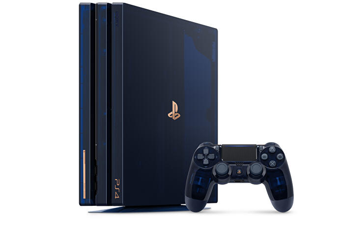 Sony unveils translucent PS4 Pro to celebrate 500m PlayStations sold