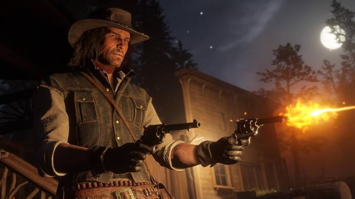 Il video gameplay di Red Dead Redemption 2 mostrato ieri girava su PS4 Pro