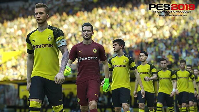 2028aeda1a0 Borussia Dortmund is no longer officially-licensed in PES 2019.