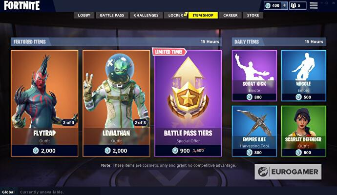 Fortnite Item Shop August 15 Update Details Eurogamer Net