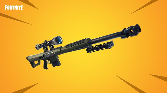 Fortnite update finally adds heavy sniper, brings back Sniper Shootout