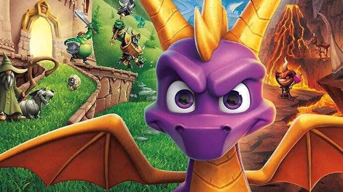 Spyro Reignited Trilogy recebe novo trailer gameplay