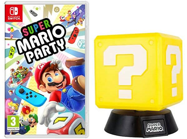 buy super mario party from the nintendo store get a free lamp