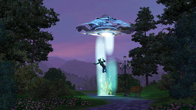 Alien_Abduction_In_The_Sims_3