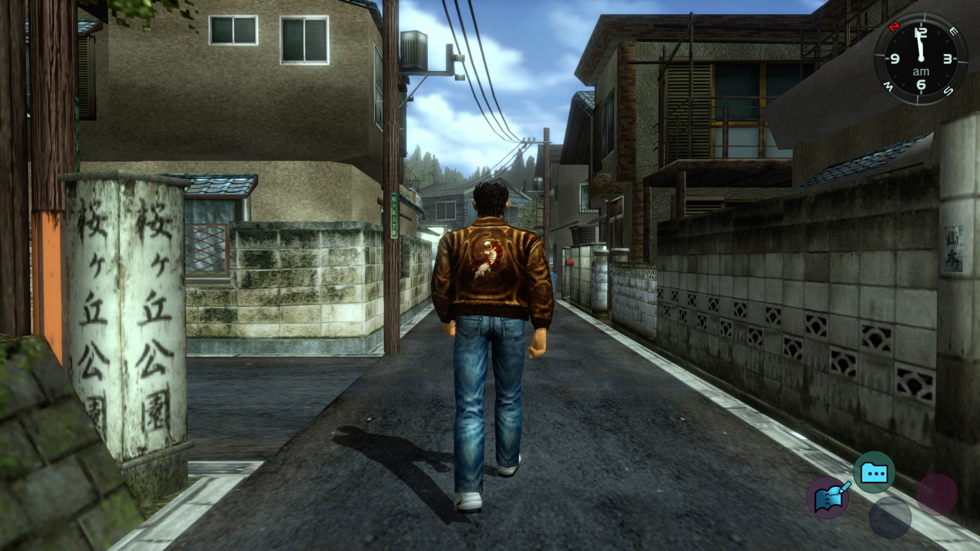 Shenmue's HD remasters analysed: enhancements are sparse but