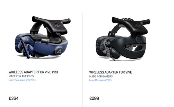 The HTC Vive wireless adapter finally loses the cables but