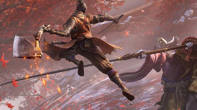 Vê mais gameplay de Sekiro na Gamescom