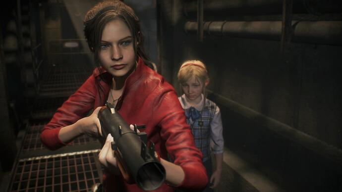 Four minutes of the Resident Evil 2 remake gameplay starring Claire
